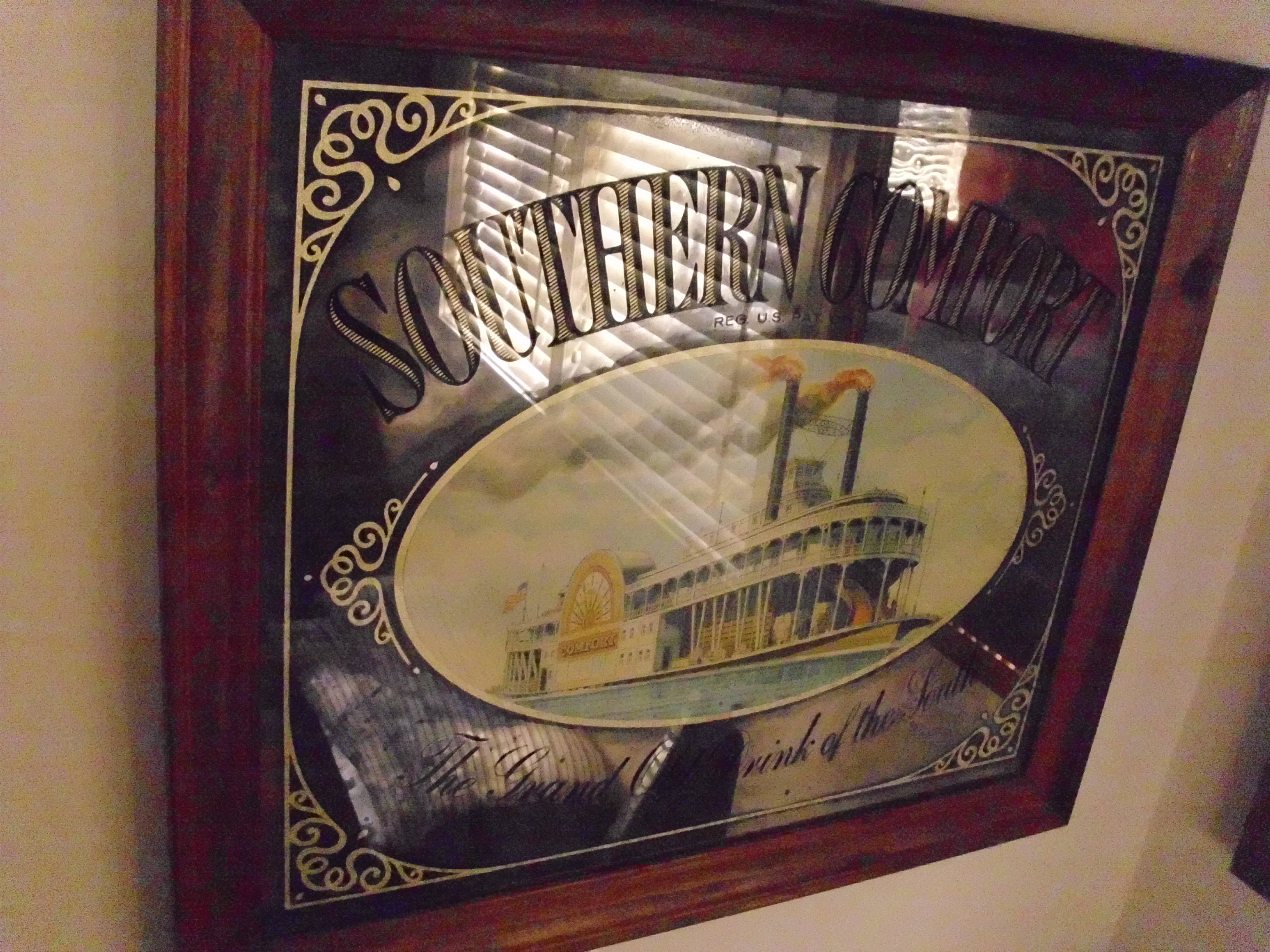 Southern Comfort Mirror Captain Martin Nautical Antiques